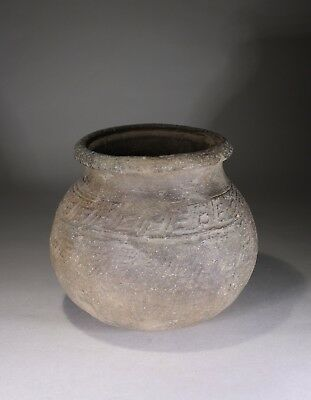 Antique Chinese Han Dynasty Earthenware Jar