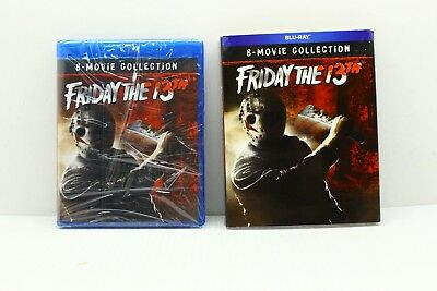 Friday the 13th The Ultimate Collection 8 Movie Blu Ray Set NEW