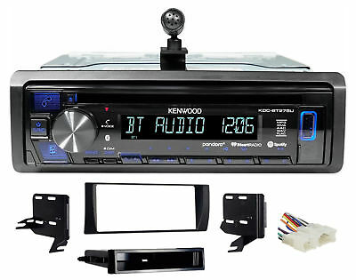 Kenwood CD Radio Receiver w/Bluetooth iPhone/Android/ For 2002-2006 Toyota Camry