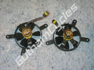 Ducati 749 999 Left & Right Radiator Electric Coolant Cooling Fans Fan