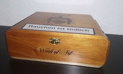 Zigarren Kiste Box Arturo Fuente Work of Art LEER ohne Inhalt