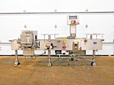 Rx-4373, Goring Kerr / Mettler Toledo High Speed Checkweigher Metal Detector