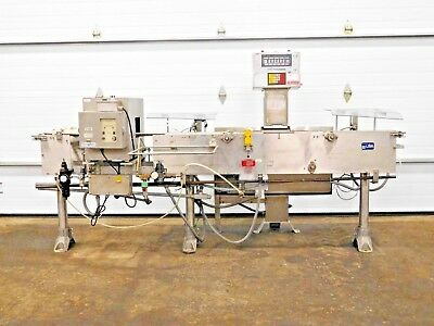 Rx-4372, Goring Kerr / Mettler Toledo High Speed Checkweigher Metal Detector
