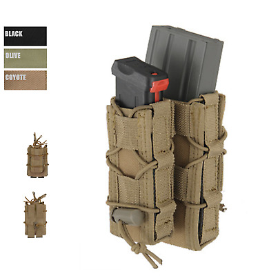 MOLLE Combo Rifle / Pistol Mag Speed Pouch Quick Magazin Tasche double Mag