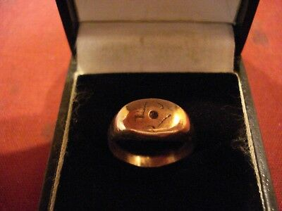 Genuine Ancient Roman  'magic Eye' Ring--Detector Find