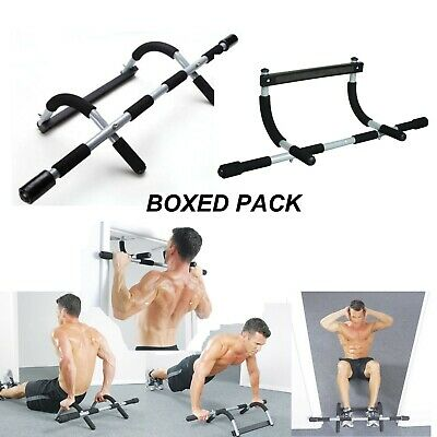 Fitness Exercise Home Door Pull Up Bar Sit Up Chin Up Strength Body Workout Gym