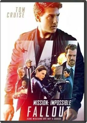 """mission Impossible: Fallout"" (Dvd 2018) Preorder Ship On 12/4"