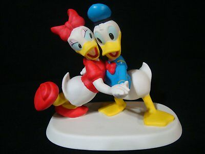 Precious Moments-I Only Want To Dance With You-Donald and Daisy Duck