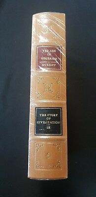 The Age Of Voltaire The Story Of Civilization IX Leather-Bound The Easton Press