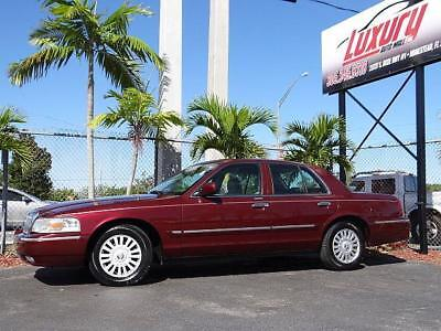 2008 Grand Marquis Mercury Grand Marquis LS Leather Crown Victoria FL 2008 Mercury Grand Marquis LS * NO RESERVE AUCTION * LOW 61K MILES NO RUST CAR