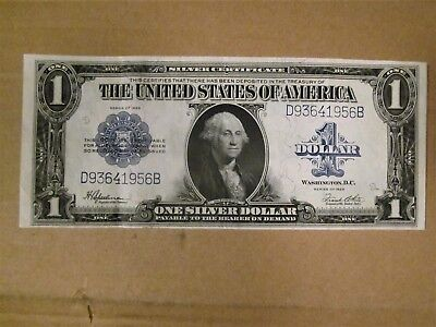 1923 One Dollar $1 Silver Certificate Nice Condition!