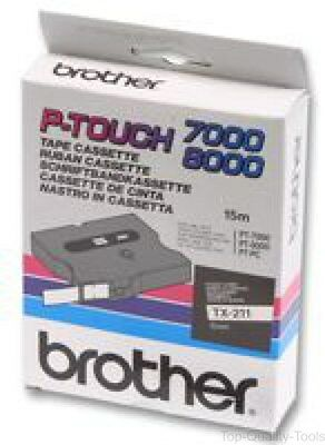 Brother, Tz-651, Tape, Black/yellow, 24Mm