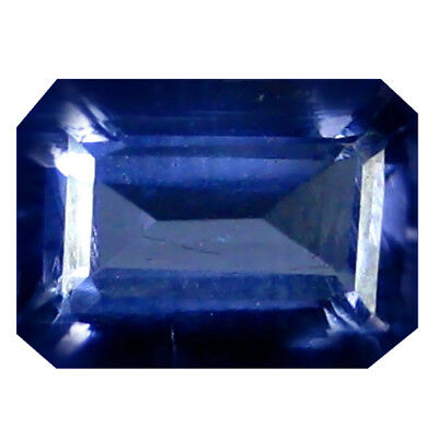 1.43 ct AAA Excellent Octagon Shape (8 x 6 mm) Blue Iolite Natural Gemstone