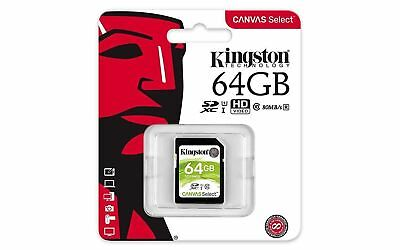 Kingston 64GB Sd Original Tarjeta de Memoria para Nikon D5600 Cámara Digital