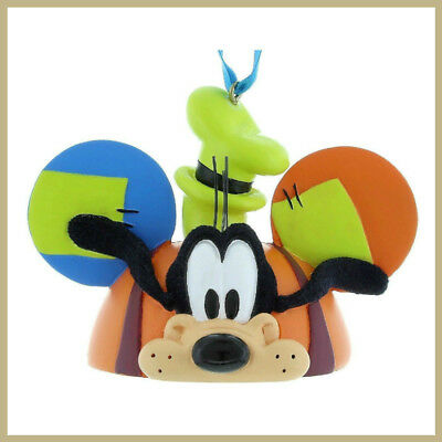 Disney Parks Goofy Ear Hat Christmas Ornament NEW with tags