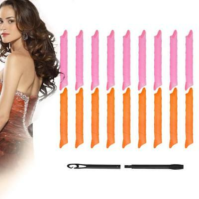 """Hair Curler DIY 50CM 20"""" Curlers Curl Formers Spiral Styling Rollers Tool"""