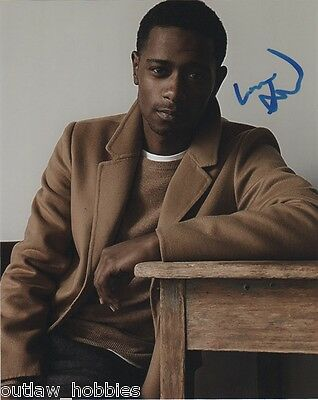 Keith Stanfield The Purge Autographed Signed 8x10 Photo COA #2