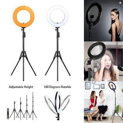 "14"" LED Ring Light with Stand Lighting Kit Dimmable For Makeup Youtube Live"