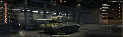 World of Tanks (WoT) Account–1750 WN8, 55 % Winrate, 27500 Gold, 95 Mio Credits