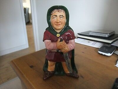 Fantastic Vintage Character Jug Of Will Scarlet By Roy Kirkham