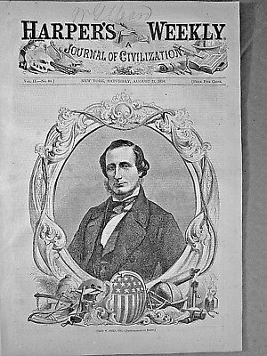 Atlantic Telegraph Cable - Cyrus W. Field - Laying The Cable 1858 Harpers Weekly