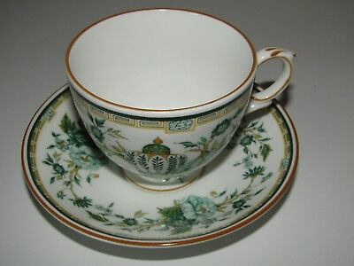Crown Staffordshire china England KOWLOON tea cup and saucer (D)
