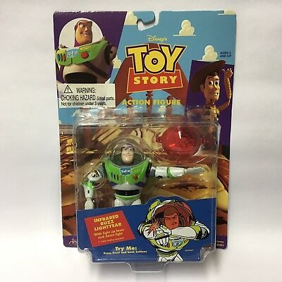1995 Thinkway Disney Pixar Toy Story Action Figure - Infared Buzz Lightyear MOC
