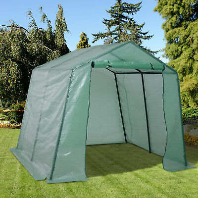 Walk-in Greenhouse Plant Growth Tent Warm House Gardening Tunnel Outdoor