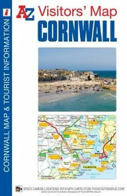 Cornwall Visitors Map by Geographers' A-Z Map Company 9781843489542