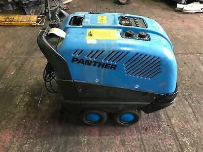 Edge Panther Pressure Washer Diesel Steam Cleaner just serviced with recipt