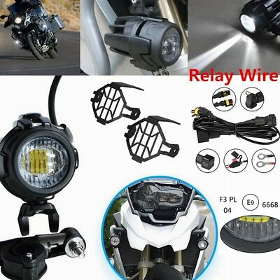 LED Fog Lamp Auxiliary Driving Lights E9 For BMW K1600 R1200GS R1100GS F700GS