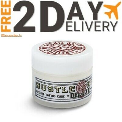Hustle Butter Tattoo Aftercare Organic Richie Bulldog Certified 1oz Deluxe Jar