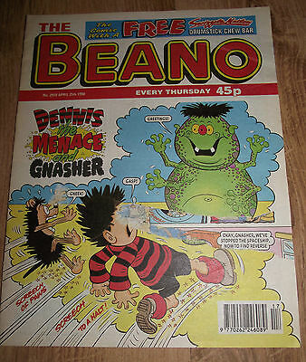 The Beano Comic Issue No 2910 25 April 1998