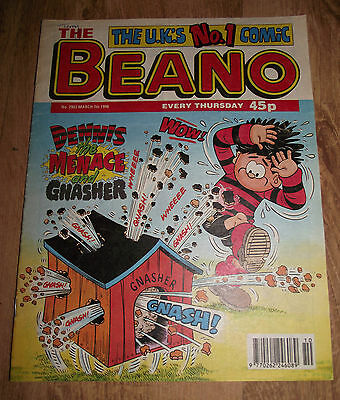 The Beano Comic Issue No 2903 7 March 1998