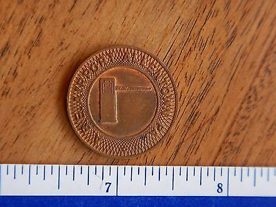 Vintage Original Allentown Pa. Airport A.b.e. Parking Token
