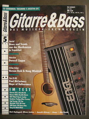 GITARRE & BASS 1993 # 5 - DWEEZIL ZAPPA VERNON REID DOUG WIMBISH PAUL McCARTNEY