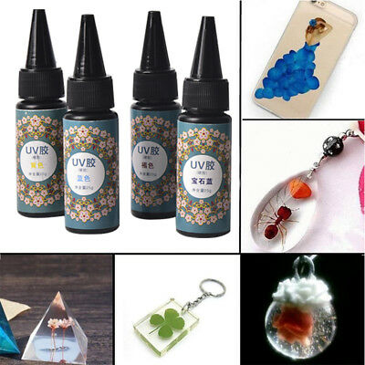 25g Epoxy UV Resin Hard Glue Dye Colorant Resin Pigment Mixed Color DIY Craft