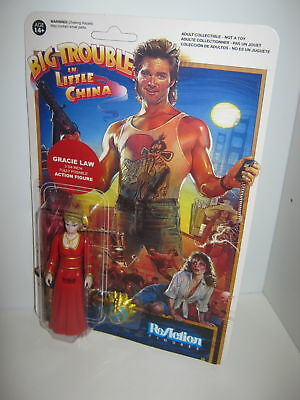 Big Trouble In Little China ReAction Figure Gracie law
