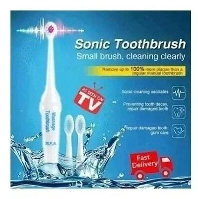 Electric Toothbrush with 3 Brush Heads Oral Hygiene Health Products...NEW