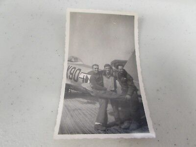 WWII US Army Air Corps 87th fighter squadron original period picture   #32