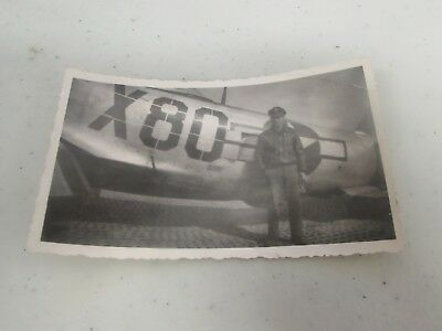 WWII US Army Air Corps 87th fighter squadron original period picture   #38