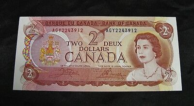 INUNIT HUNTING !!!    1974 Two Dollar Bank Note. -  CHOICE UNCIRCULATED !!!