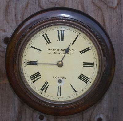Antique 'camerer, Cuss & Co London'  Wall Clock
