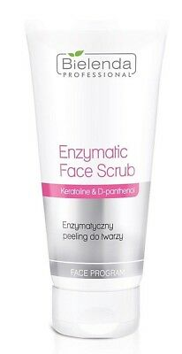 Bielenda Professional Enzymatic Face Scrub with Keratoline & D-panthenol, 150g