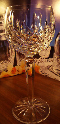 Waterford Crystal LISMORE HOCK GLASSES 600/318- 7 3/8""
