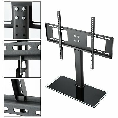Tabld Top Desk TV Stand Mount Bracket Shelf 32 to 70 inch LED LCD For LG Sony