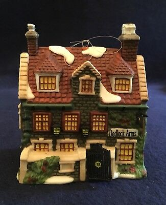Department 56 DICKENS' VILLAGE DEDLOCK ARMS ORNAMENT LE 1994 VGC NEW