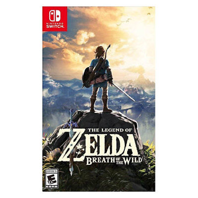 Nintendo Of America Hacpaaaaa Legend Of Zelda: Breath Of The Wild