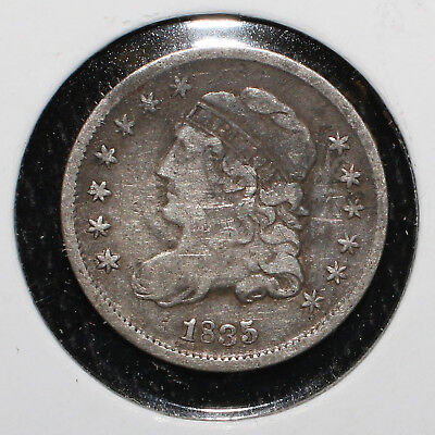 1835 Capped Bust Half Dime - 02221