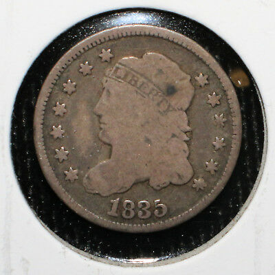 1835 Capped Bust Half Dime - 02220